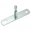 Stollenschlüssel T-Form M10 flach